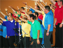 Men's Choir Performance