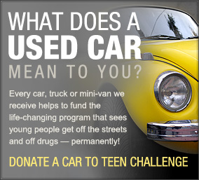 Teen Challenge London Vehicle Donation